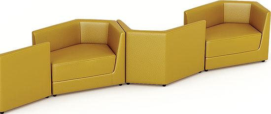 Владелец Gruppo 396 Александр Полянкин рассчитывает, чтопринципиально новая продуктовая линейка, которую создала компания, стимулирует спрос в перспективном сегменте контрактного рынка мягкой мебели