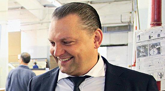 генеральный директор компании «Костромамебель» Сергей Репин