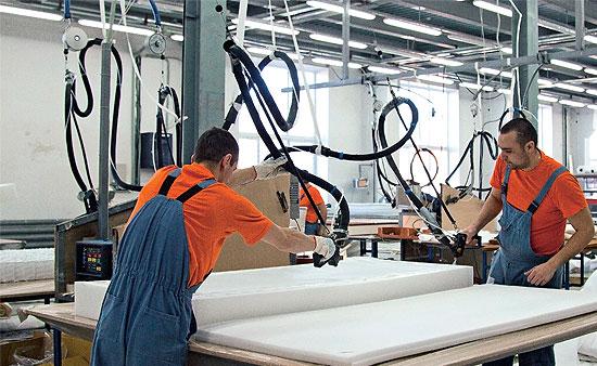 В марте один из лидеров матрасного рынка «Орматек» ввёл в строй новую производственную площадку.